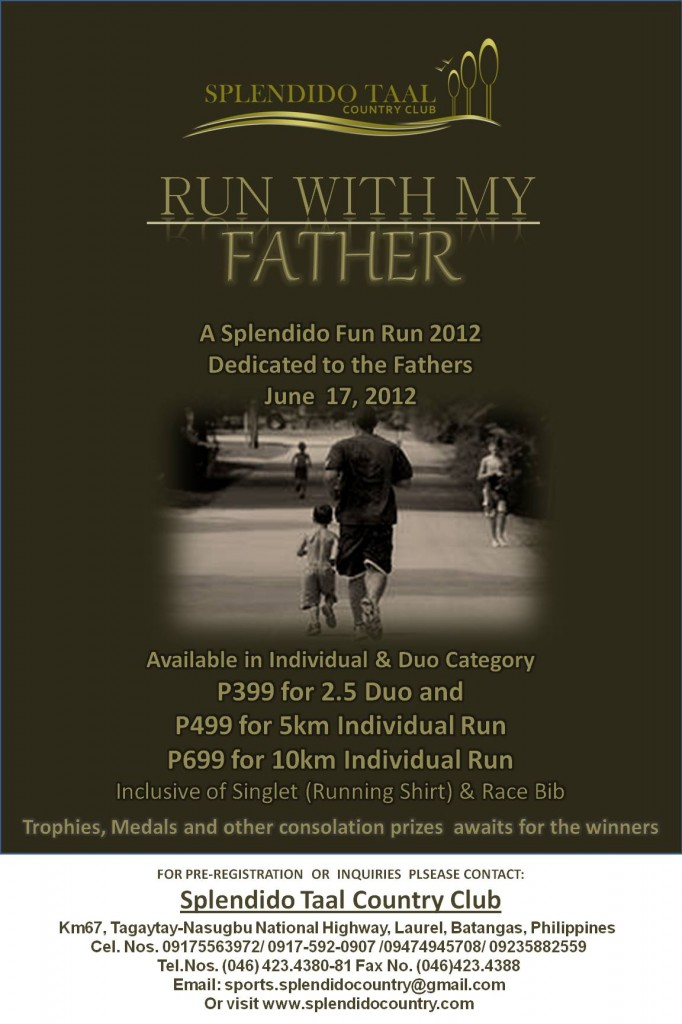 Splendidos-Run-With-My-Father-2012-Edition