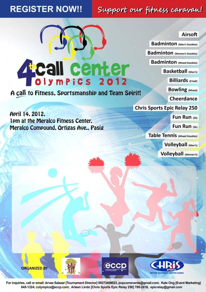 call-center-olympics-2012-poster