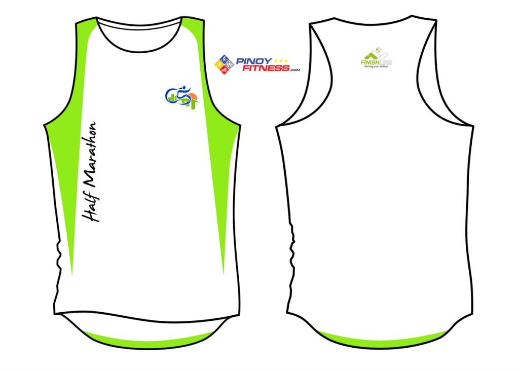 C5 Half Marathon 2012 - Singlet Design - S
