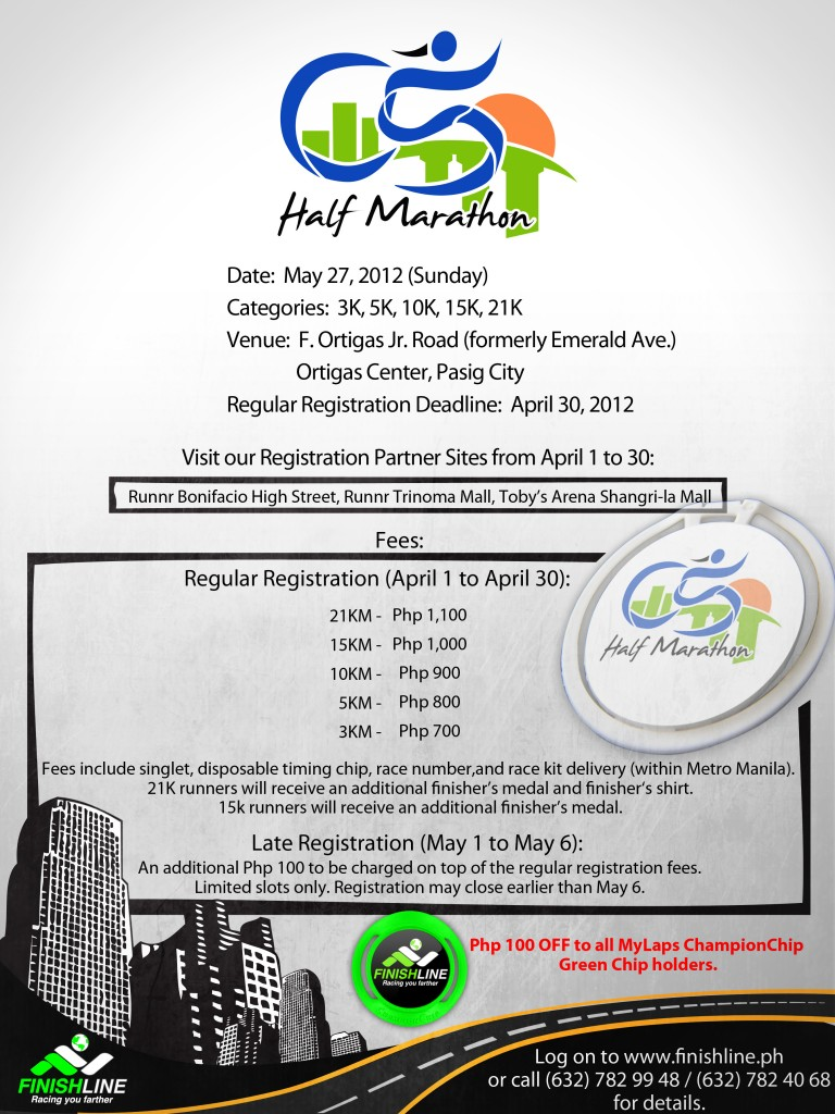 C5 Marathon 2012 Poster