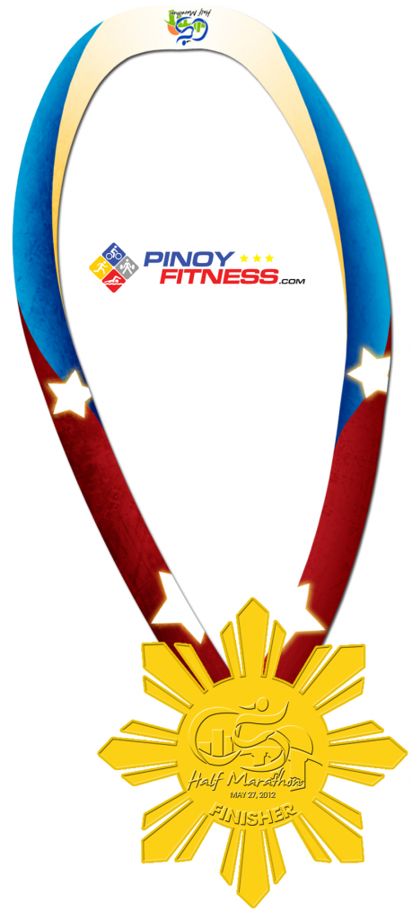 Half Marathon Finisher's Medal 2012