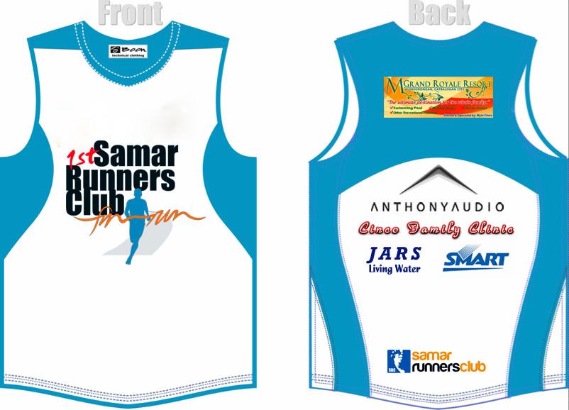 1st Samar Runners Club Singlet