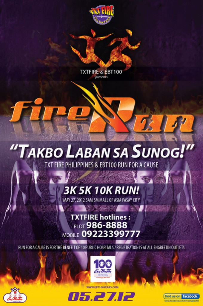 FIRE RUN: Takbo Laban Sa Sunog 2012 race results and photos