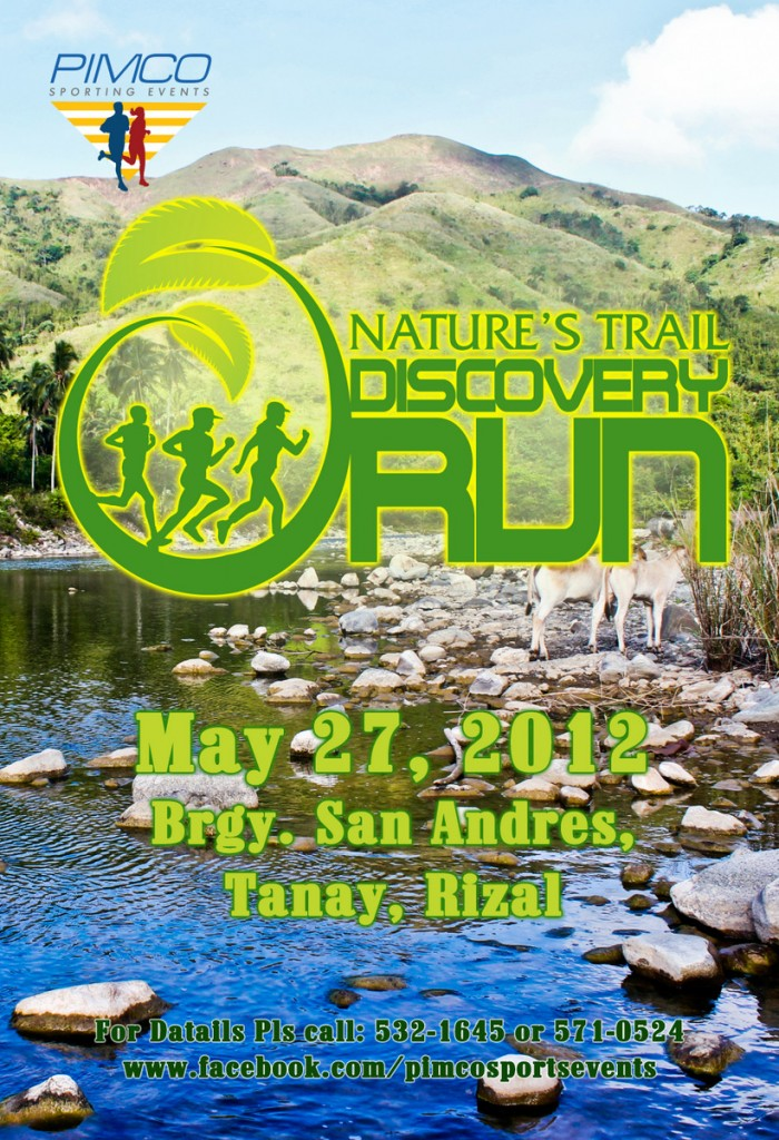 Nature's Trail Discovery Run 2012 race results and photos