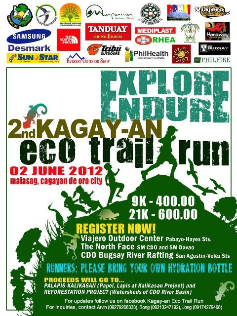 2nd Kagay-an Eco Trail Run 2012 race results and photos