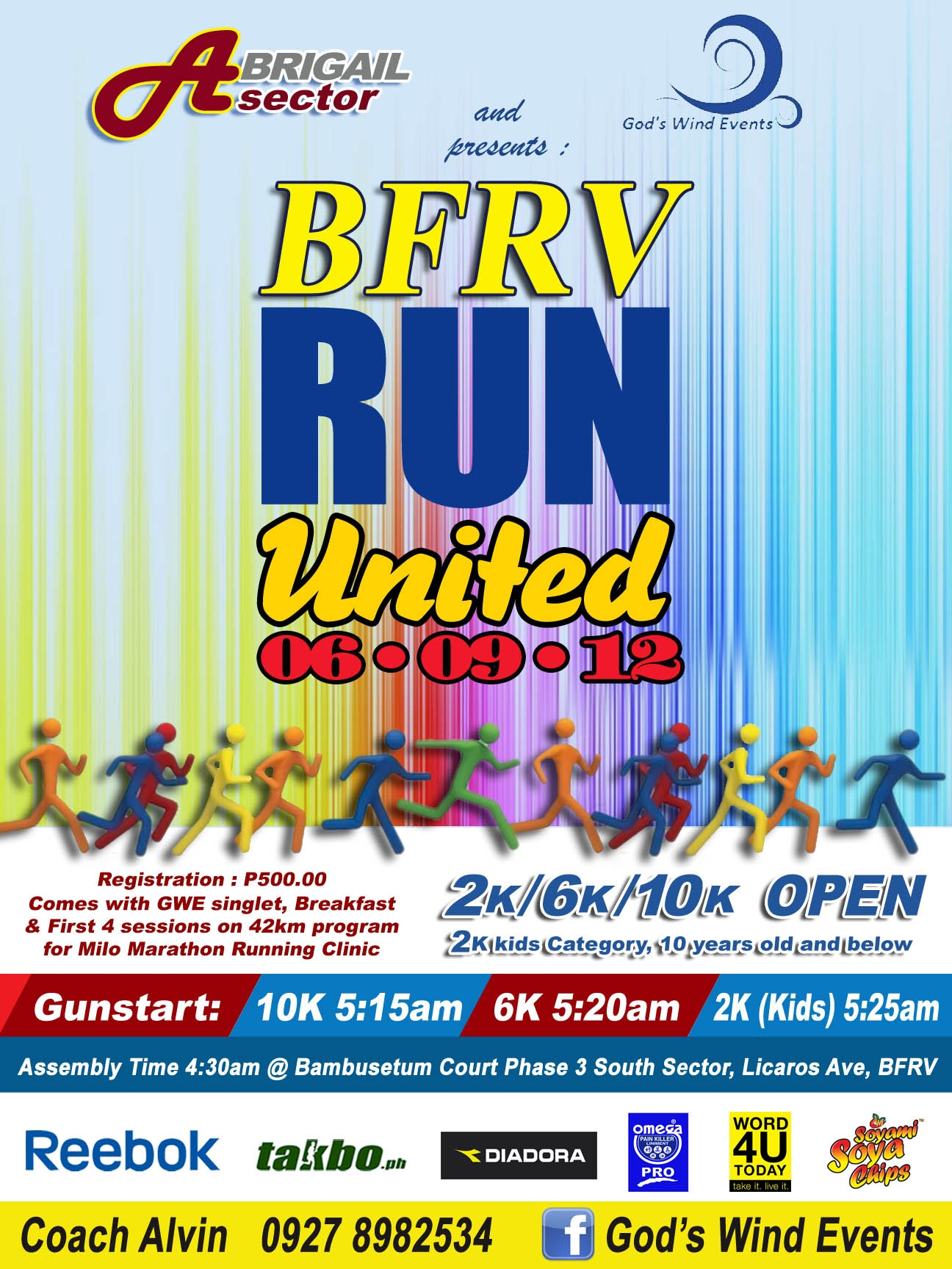 BFRV Run United 2012 race results and photos