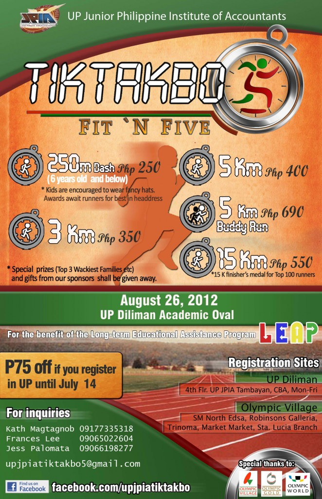 Final Tiktakbo 5 Poster 2012