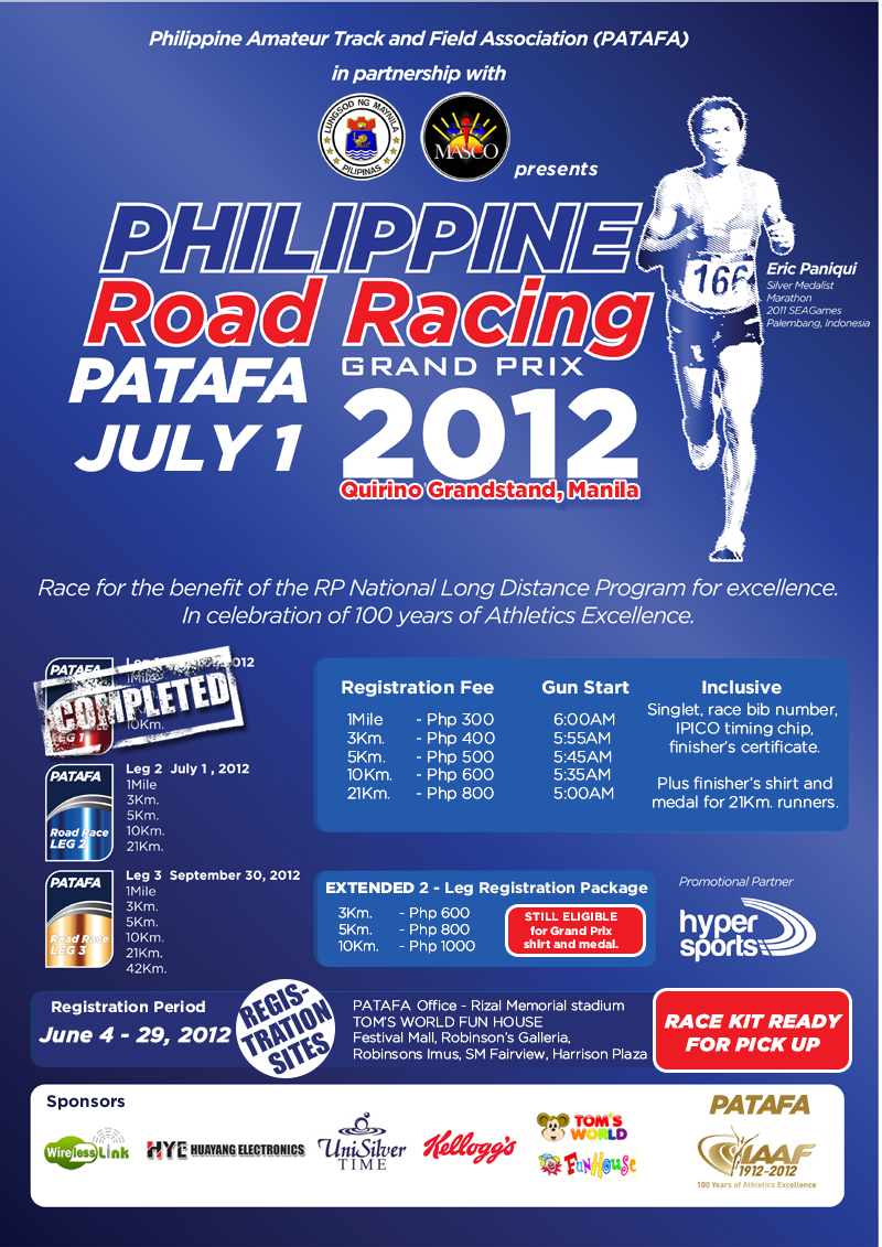 PATAFA Phil Road Racing GrandPrix – Leg 2 race results and photos