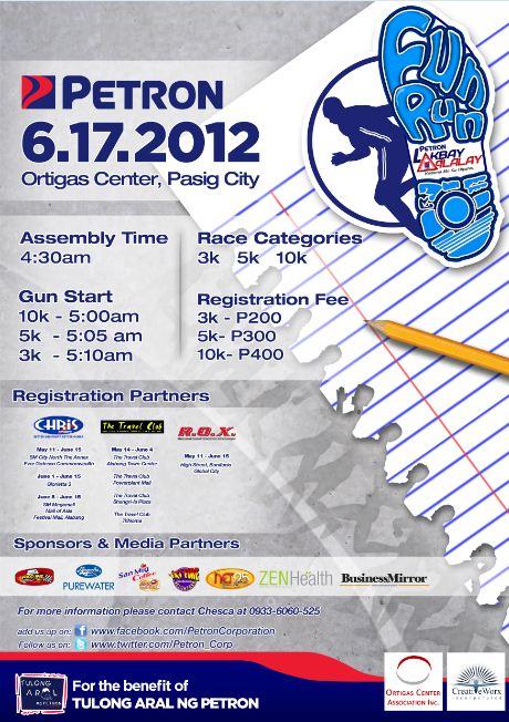 Petron Lakbay Alalay Fun Run race results and photos
