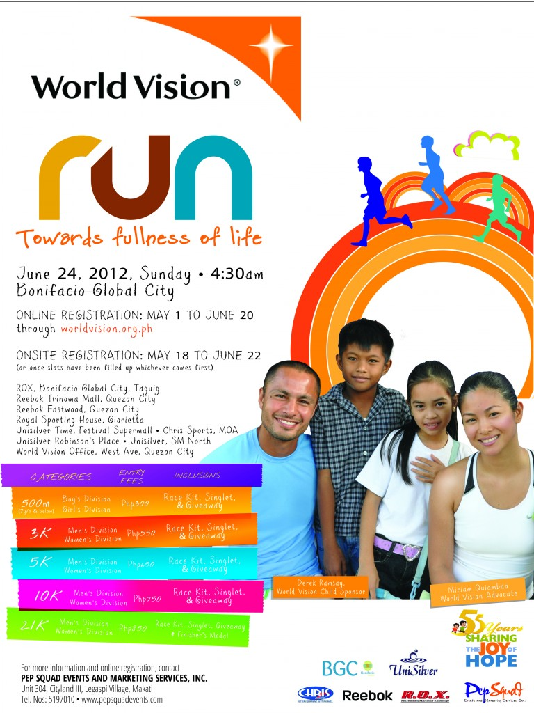 World Vision Run race results and photos