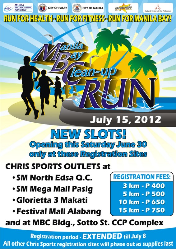 Manila Bay CleanUp Run 2012 race results and photos