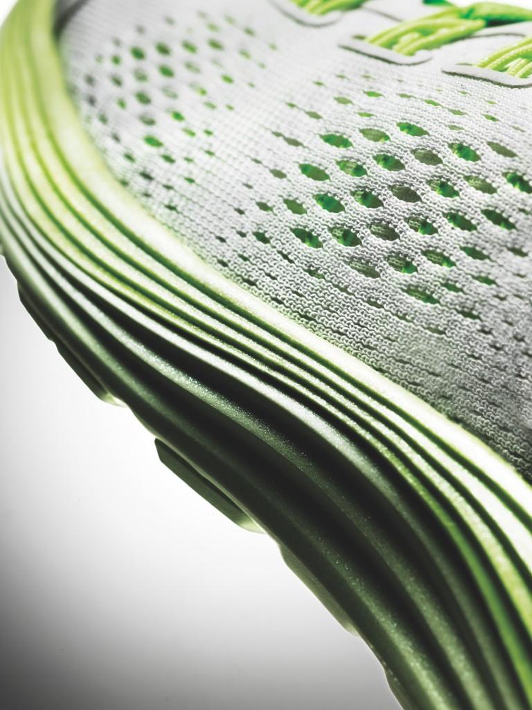 Nike LunarGlide+ 4 White-Volt Lunarlon Sole