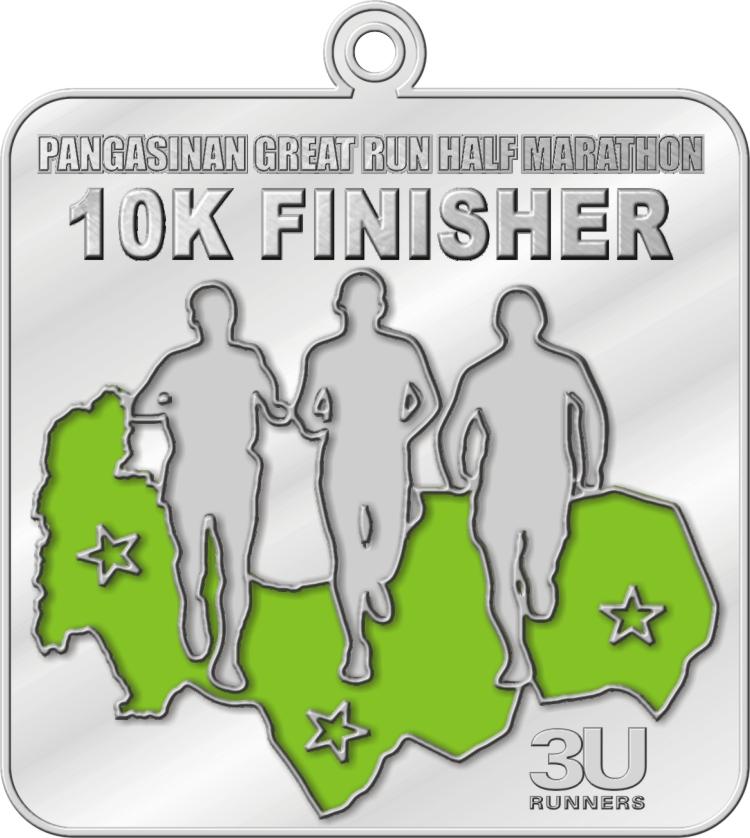 PGRHM 10K Finishers Medal