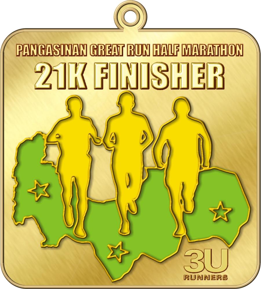PGRHM 21k Finishers Medal