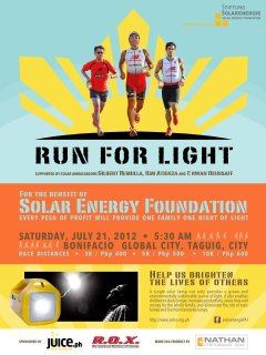 Run For Light 2012 race results and photos