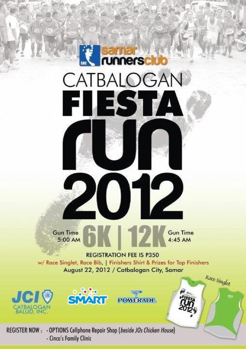 catbalogan-run-2012-poster