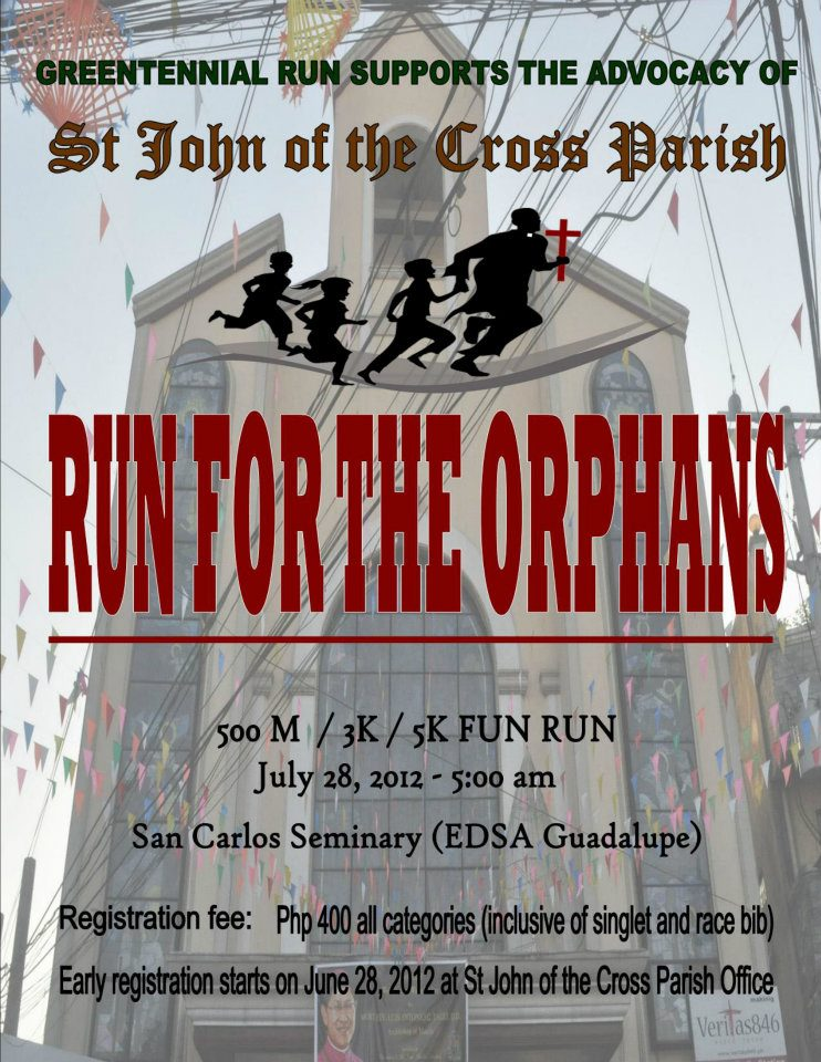 Run for the Orphans 2012 race results and photos