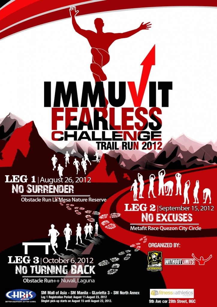 Immuvit Fearless Challenge Trail Run (Leg 1) 2012 race results and photos
