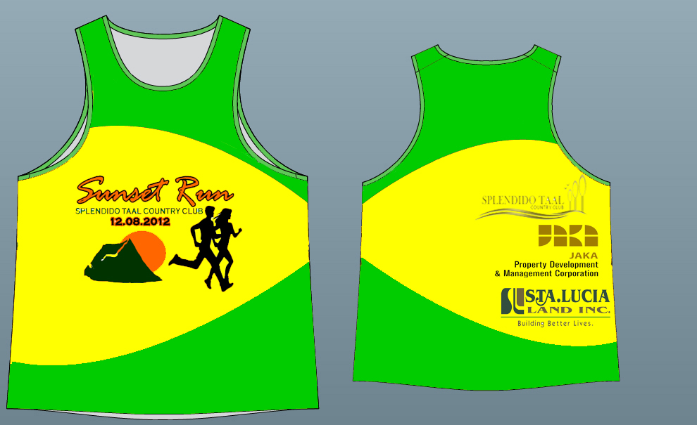 Singlet Splendido Sunset Run 2012