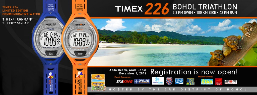 Timex 226 Bohol Results and Photos