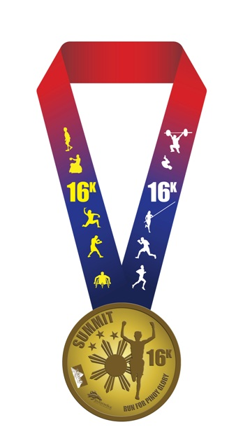 run for pinoy glory 2012 medal