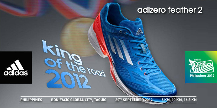 adidas King of the Road 2012 race results and photos