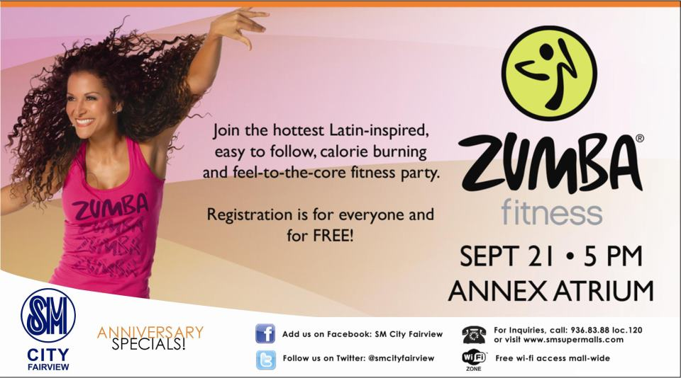 Zumba Fitness Poster Join The Zumba Fitness Party