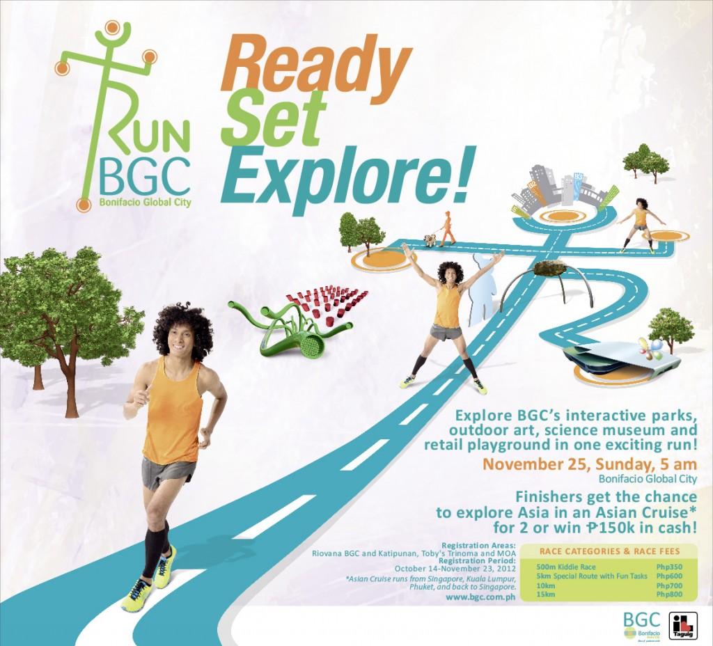 BGC RUN 2012 - promo