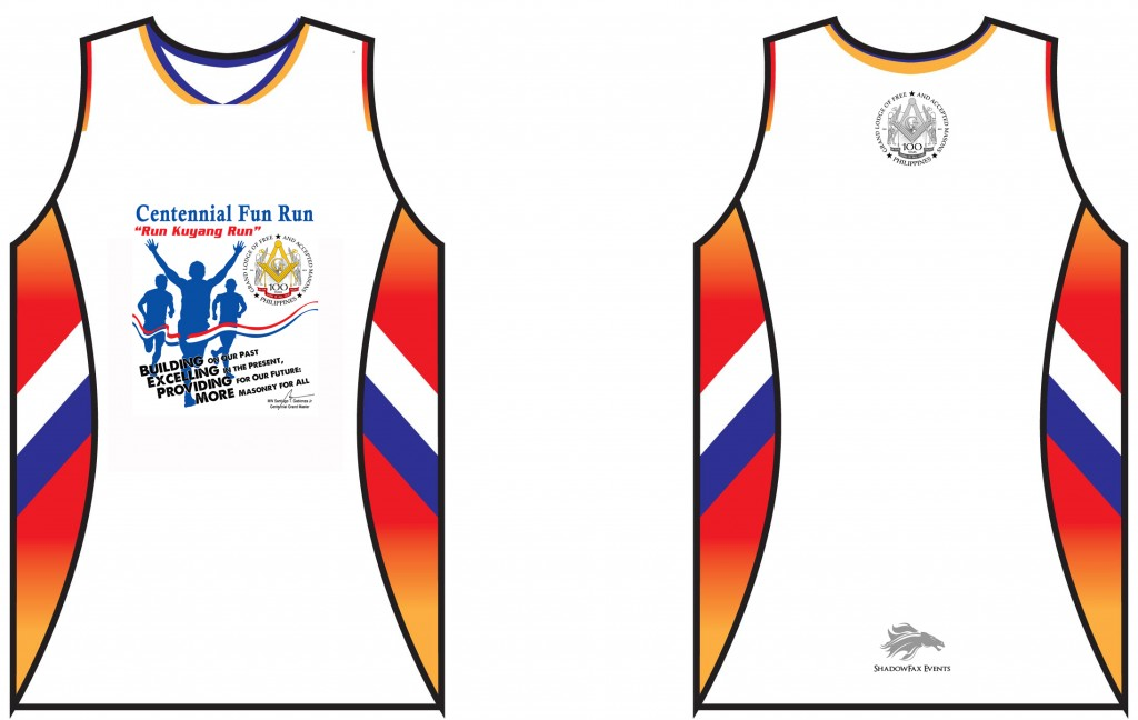 Centennial Run Singlet new copy