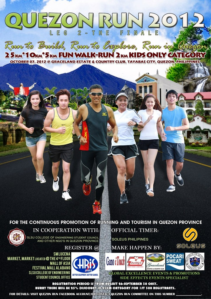 Quezon Run 2012 (Leg 2) The Finale 2012 race results and photos