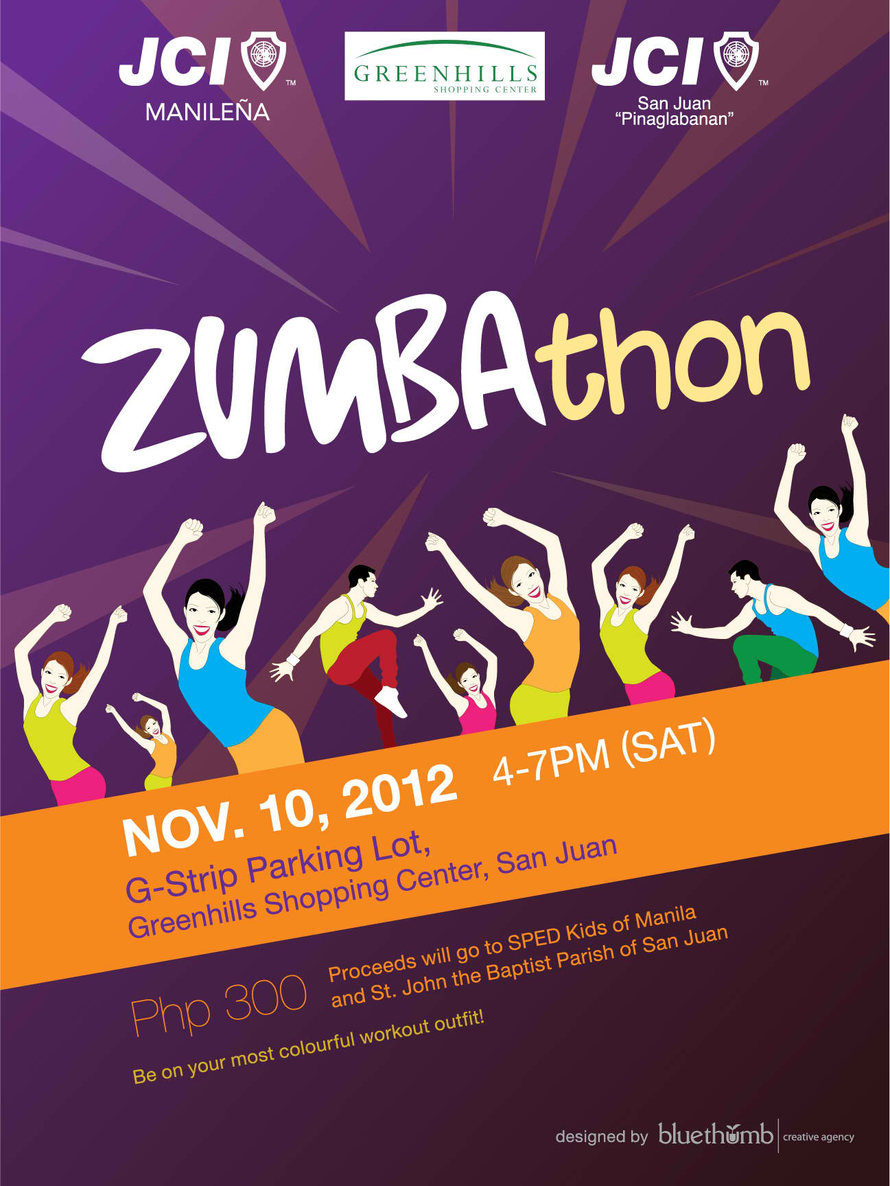 Zumbathon Poster Zumbathon | Pinoy Fitn...