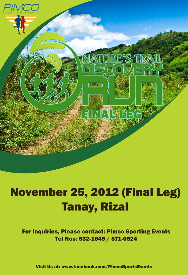 Nature's Trail Discovery Run Final Leg 2012 race results and photos