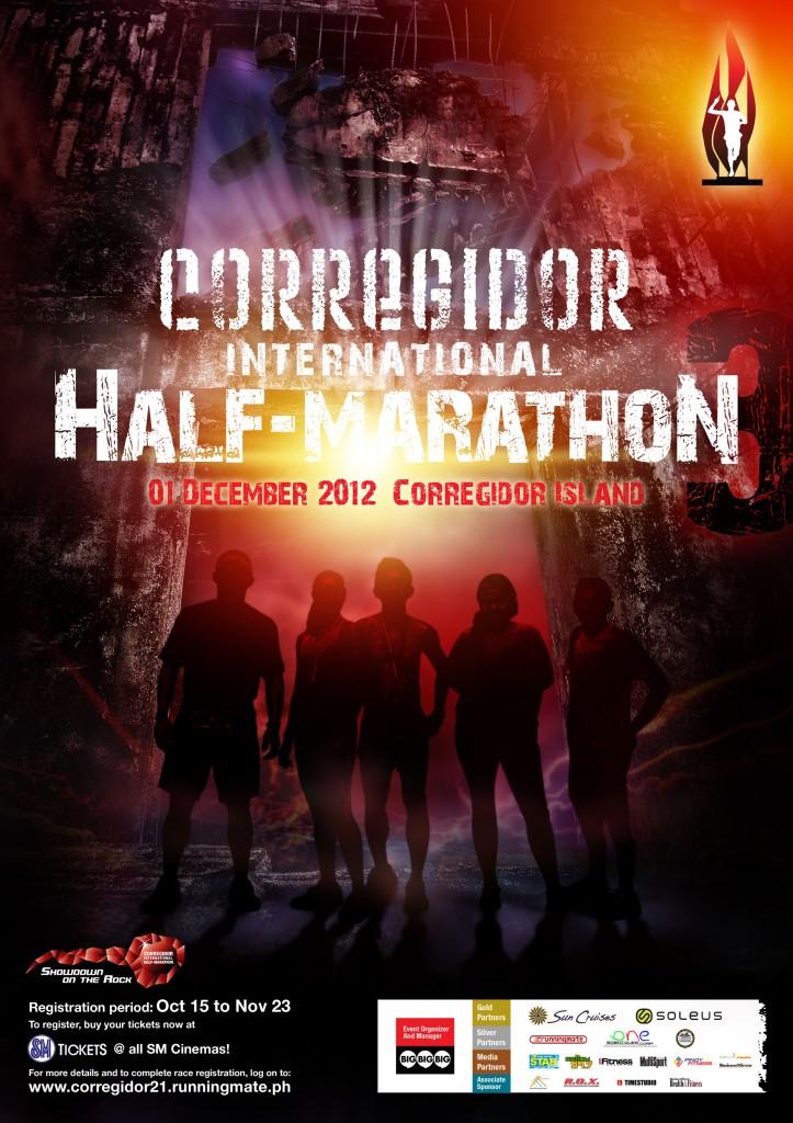 3rd Corregidor International Half-Marathon 2012 race results and photos