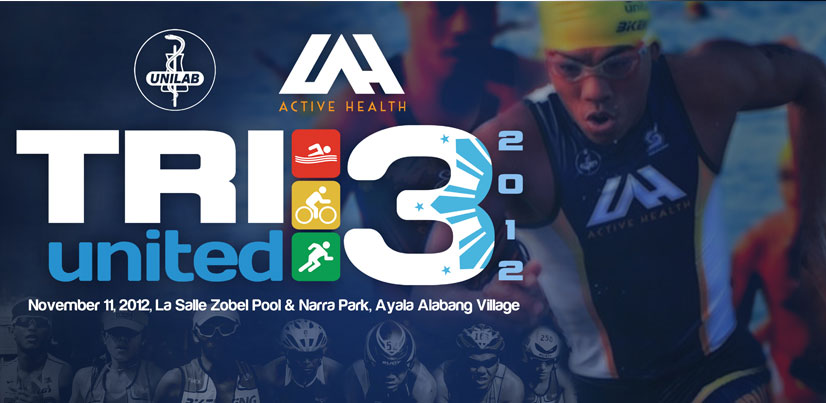 Unilab Tri United 3 2012 race results and photos