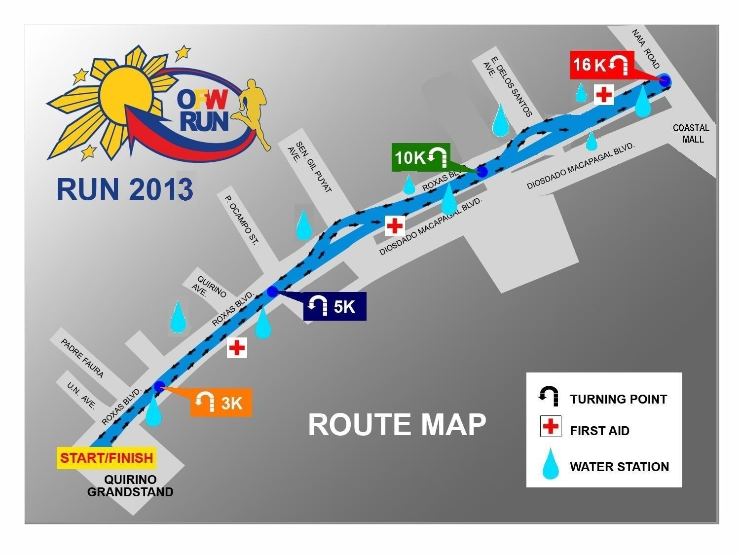 ofw-run-2013-route-map