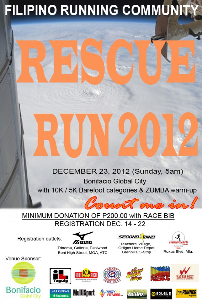 Rescue Run 2012 - Results Discussion and Photo Links