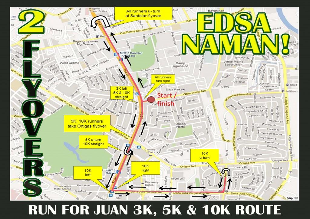 3,5,10K route