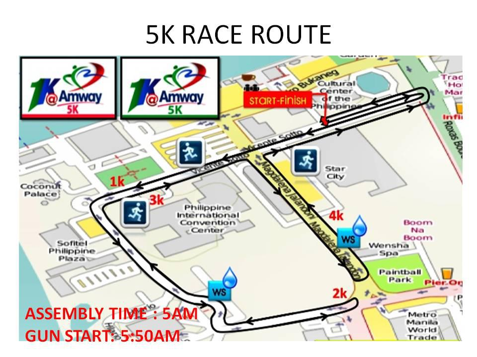 Amway-Fun-Run-2013-5K-Race-Route
