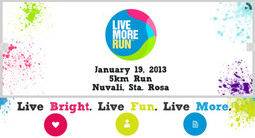 Live More Run @ Nuvali 2013 race results and photos