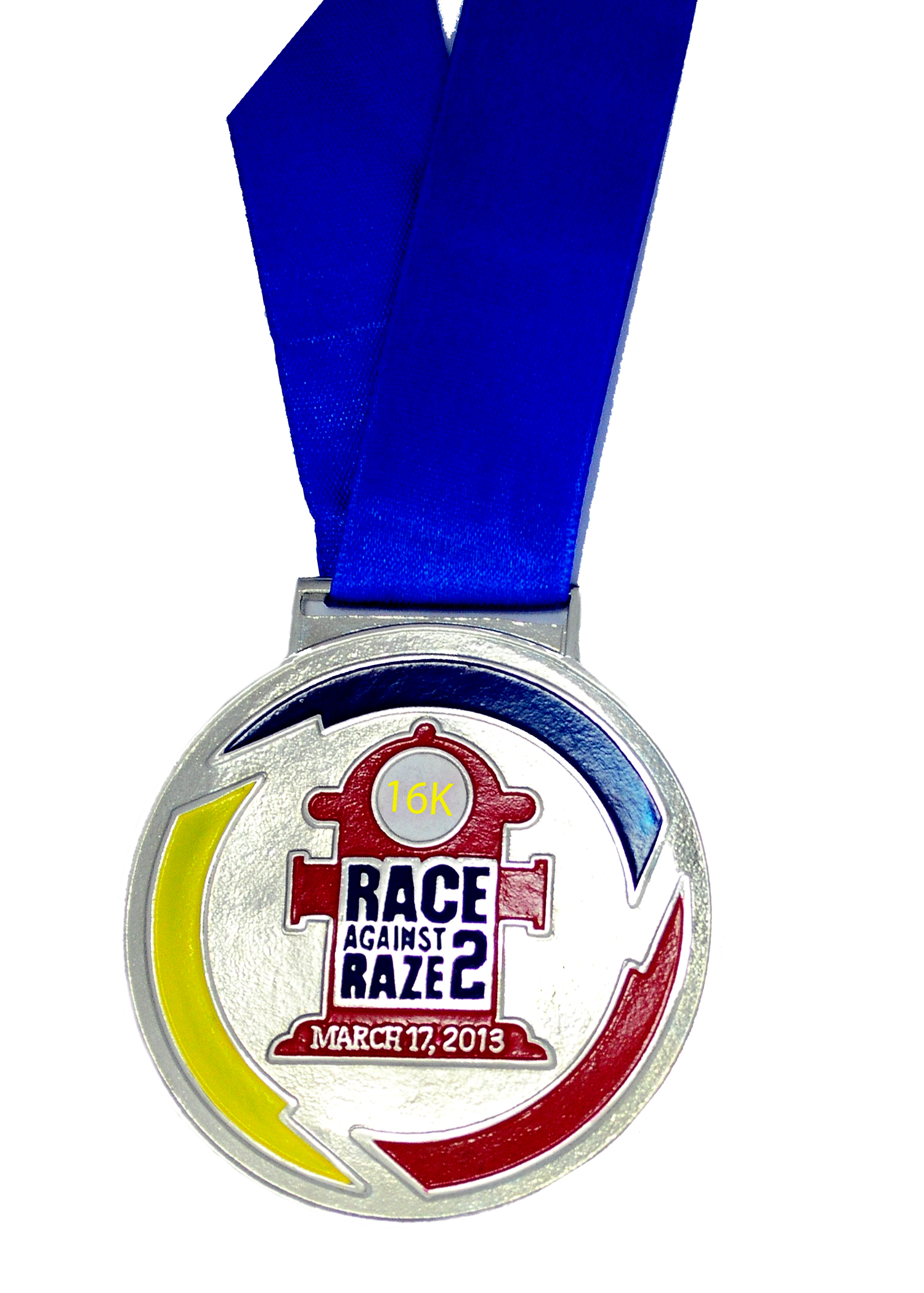 race-against-raze-2-2013-medal-design