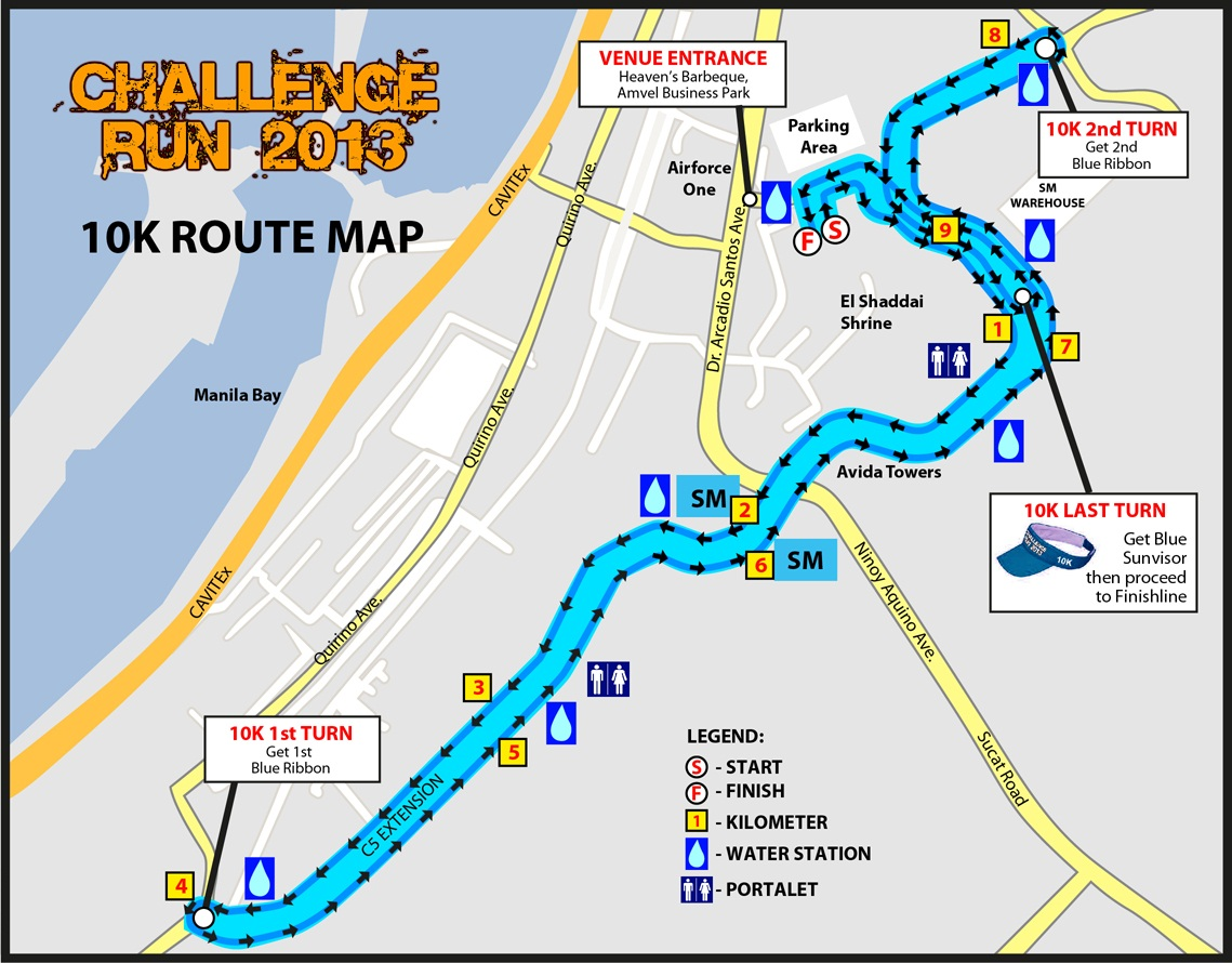 Challenge-Run-2013-Route-Map-10K