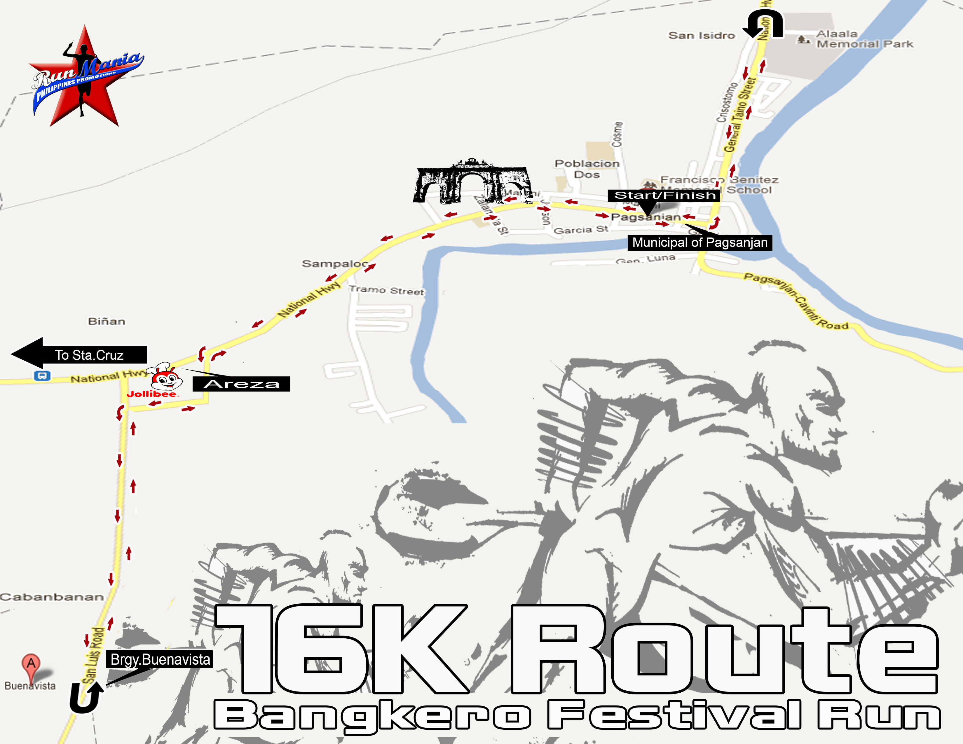 bangkero-festival-run-2013-16k-route-map
