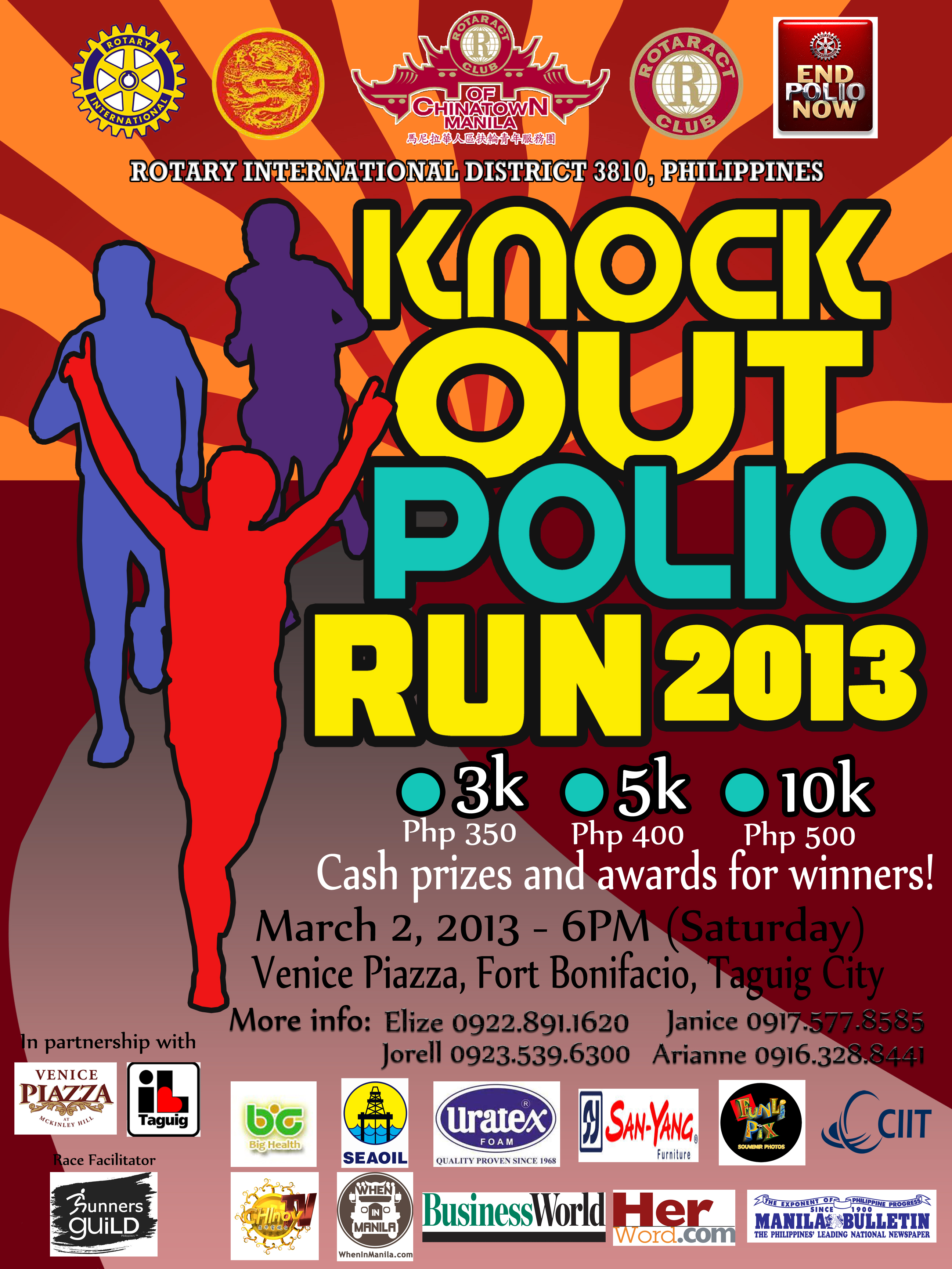 knock-out-polio-run-2013-poster