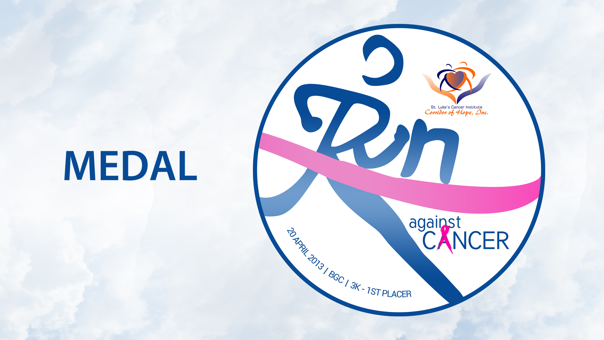 run-against-cancer-2013-medal-design