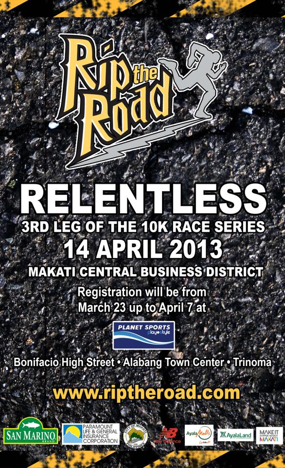 3rd Rip the Road 2013 poster