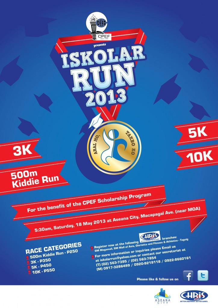IskoRun poster 2013 update