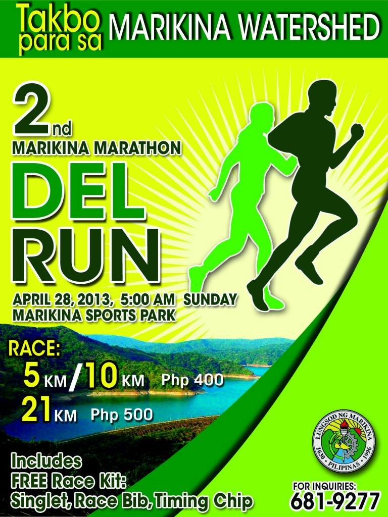 takbo marikina run 2013 results and photos