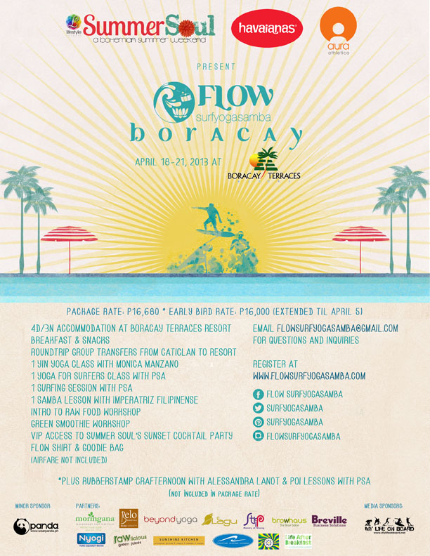 flow-yoga-surf-samba-retreat-boracay-2013-poster