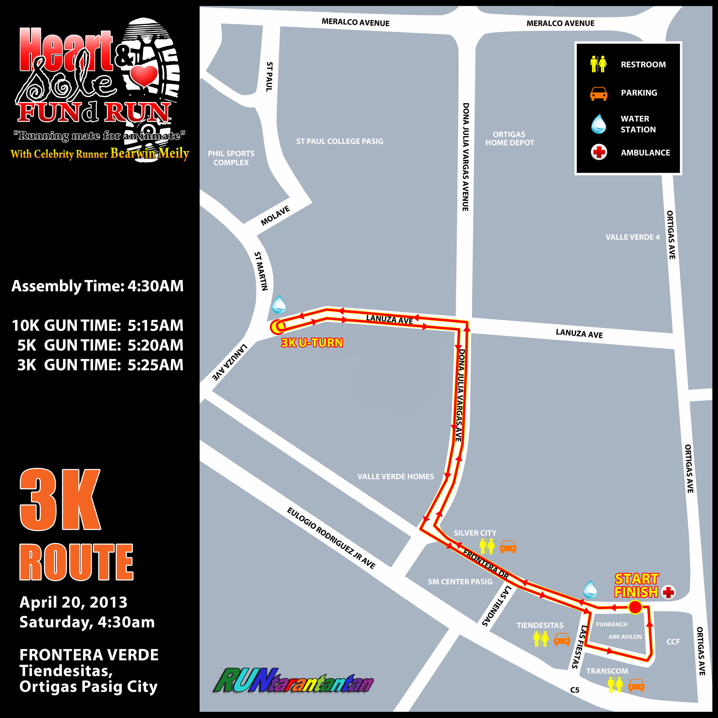heart-and-sole-fund-run-2013-route-map-3k