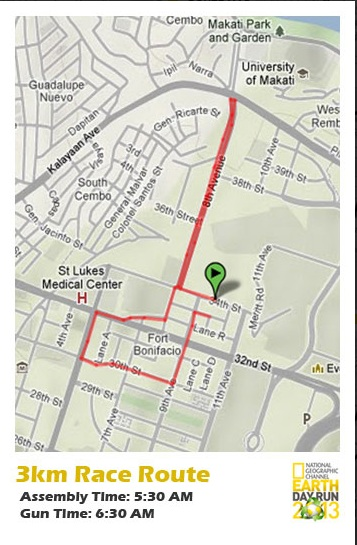nat-geo-earth-day-run-2013-3k-route-map